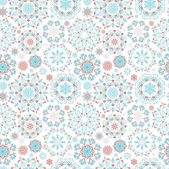 Vector snow pattern