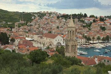 City Hvar in Croatia.