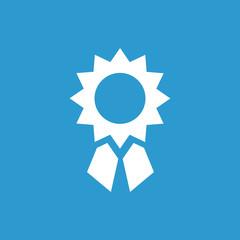 achievement icon, white on the blue background .
