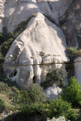 Rock formations in Goreme National Park. Cappadocia,