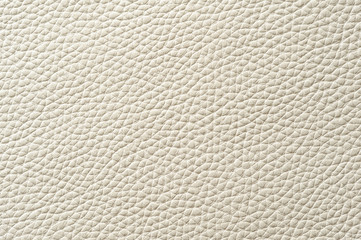 Closeup of seamless white leather texture