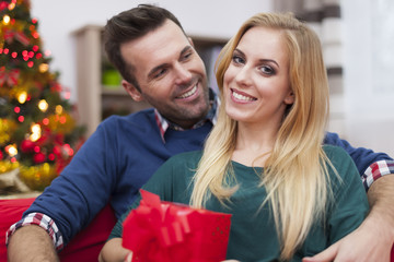 Christmas is always happy time of year for this couple