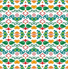 Tatar seamless pattern