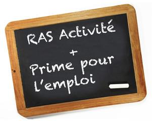 RSA activité plus prime pour l'emploi
