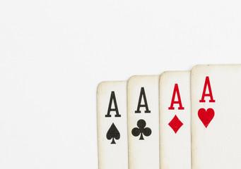 Playing cards - Stock Image macro.