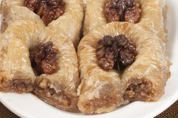 Baklava with walnut 'Sultan'