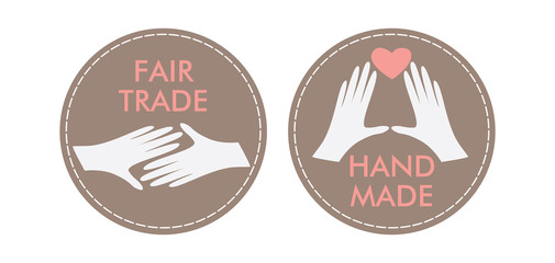 icons HANDMADE FAIRDRADE