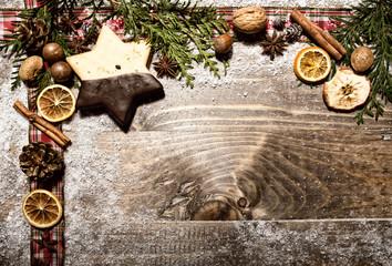 Weihnachtsgebäck Hintergrund