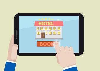 book hotel room