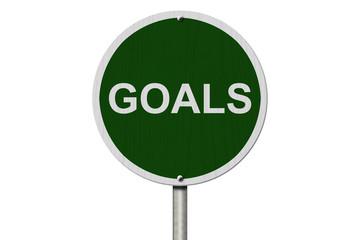 Goals Sign