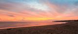 Panorama of Cavendish beach at the crack of dawn poster