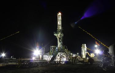 Big drilling rig