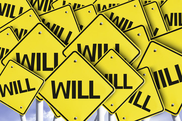 Will written on multiple road sign