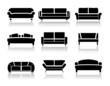 Vector sofa - 69048078