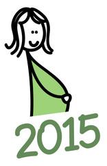 Schwangerschaft 2015