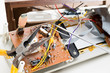 Repairing clock radio