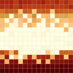 Brown seamless pattern with squares shapes.