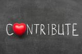 contribute poster