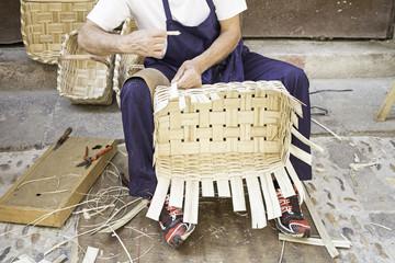 Making baskets