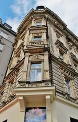 Erker, Wenzelsplatz, Prag