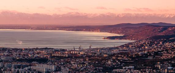 Trieste e Alpi da San Servolo