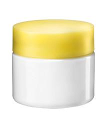 Plastic cosmetic jar for cream