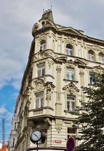 Prag, Erker am Wenzelsplatz