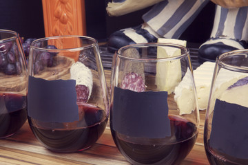 Wine With Appetizer