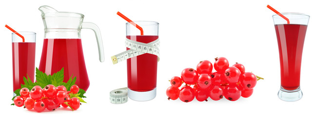 juice of red currants and meter