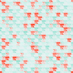 Abstract colorful geometric background with triangles. Vector