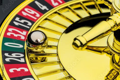 canvas print picture Roulette Glücksspiel im Kasino
