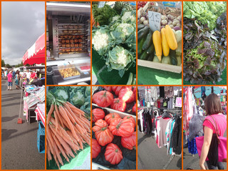 collage marché