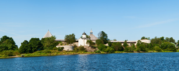Old fortress in Staraya Ladoga