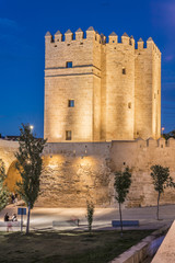 Calahorra Tower in Cordoba, Andalusia, Spain.