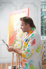 Painter and his art
