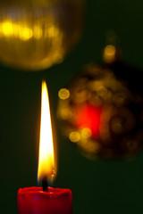 Flamme einer Kerze