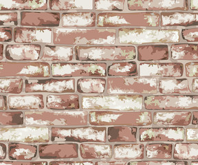 Old brick wall.