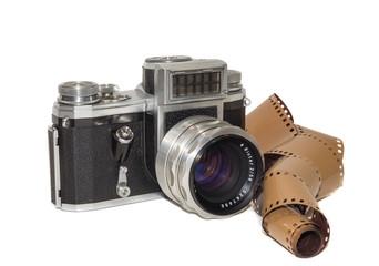 alter Fotoappatat m. Fotografien
