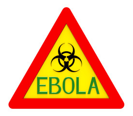 Ebola biohazard sign