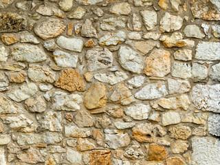 Steinmauer, Natursteine