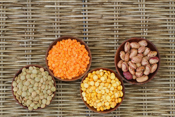 Selection of pulses with copy space