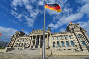 Reichstagsgebäude, Deutscher Bundestag, Parlament, Berlin