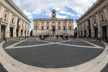 Rom. Piazza del Campidoglio