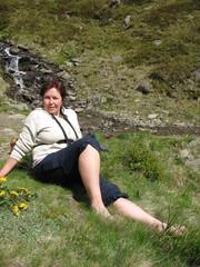 Отдых у горного ручья