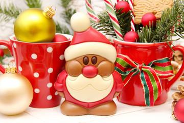 Ein Schoko-Weihnachtsmann
