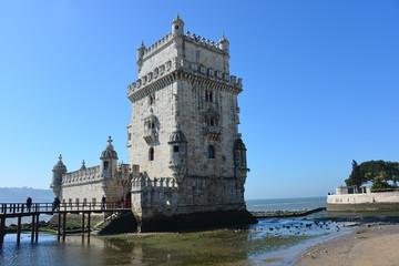 Torre de Belem, Turm von Belem, Tejomündung, Portugal