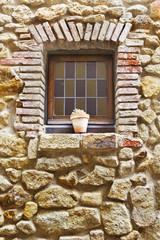 Old decoration window