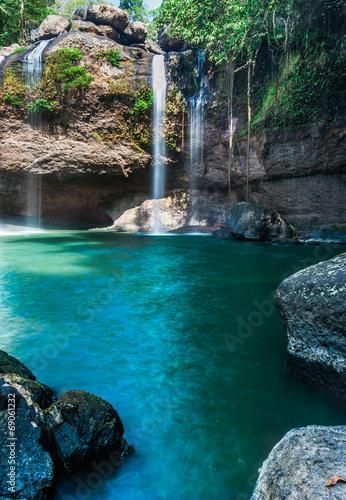 Haew Su thad waterfall, Khao Yai national park, Thailand - 69061232