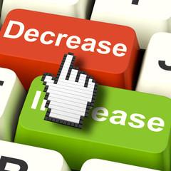 Decrease Reducing Keys Shows Decreasing Or Down Online