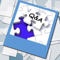 Q&A Photo Shows  Questions Answers And Assistance